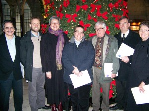 KAIROS Ecumenical Delegation visits Parliament to discuss the tar sands