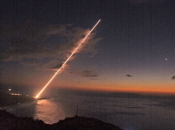 A successful intercept test for the Terminal High Altitude Area Defense (THAAD) missile defense element is conducted at the Pacific Missile Range Facility on the island of Kauai in Hawaii Jan. 27.