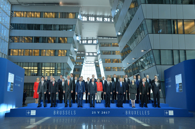 Family portrait of NATO Heads of State and Government