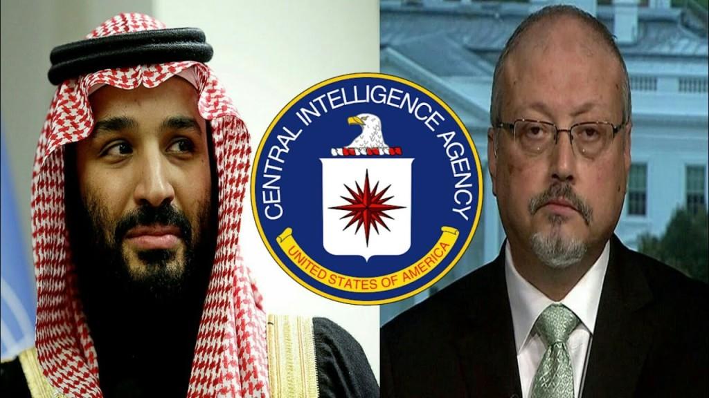 Crown Prince MBS and Khashoggi
